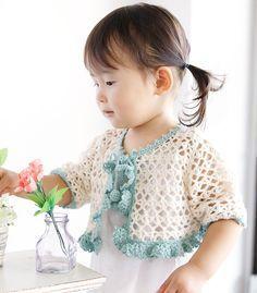 kids crochet bolero free pattern More
