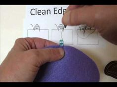 Bead Embroidery Basics Clean Edge Stitch for EDGING ~ Seed Bead Tutorials