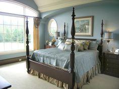 blue master bedrooms | Blue Master Bedroom Decorating Ideas