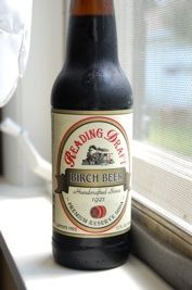 Reading Draft birch beer, root beer, white birch and sarsaparilla. They date back to the time when Penns Woods (Pennsylvania) was being settled by peoples of Germany They began brewing these sodas instead of imbibing in alcoholic drinks because their religion frowned on the use of alcoholic beverages. Over time they became a source of enjoyment and refreshment of the Mennonite and Amish sects who predominantly settled the region.