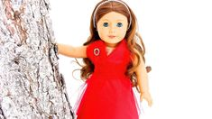 How to Make a No-Sew Doll Dress with Optional Sewing tutorial for Barbie doll also