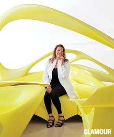 Glamour Magazine names Zaha Hadid as 'Woman of the Year' | ArchDaily #architecture ☮k☮