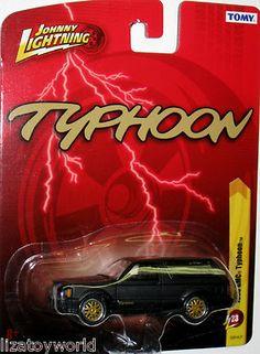 1993 GMC Typhoon Johnny Lightning 2012 FOREVER 64 Release #23 Black