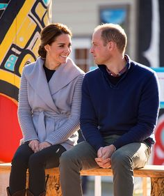 Prince William and Kate have showed they are more in love than ever during their royal tour of Canada - see the sweet photos