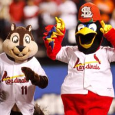 Fred Bird and The Rally Squirrel