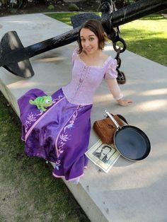 Rapunzel costume idea