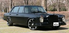 Mercedes Benz W109 - This thing is crazy.  BIG attitude on display with this car.  I don't even know how I feel about this car but have to admit it is bold and that's cool.