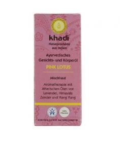 Olejek do twarzy i ciała z różowym lotosem 10ml