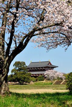 Daigokuden Palace, Nara, Japan 平城宮跡 大極殿