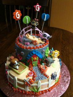 GiGi's Littlest Pet Shop — Children's Birthday Cakes