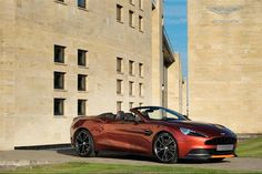 The Aston Martin Vanquish Volante - customised by 'Q by Aston Martin' - http://www.astonmartin.com