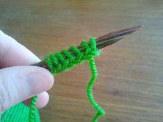 Not-Only-Knitting Emma: Elastisk uppläggning med virknål Enterlac Crochet, Textiles, Tunisian Crochet, Drops Design, Diy And Crafts, Sewing, Knitting, Crocheting, Tutorials