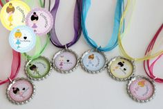 party favor ideas for ice skating party | Ice Skating Party Favors Ice Skating Necklace by ... | Kid Party Ide ...