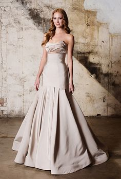 Brides: Tara LaTour Wedding Dresses   Fall 2015   Bridal Runway Shows   Brides.com | Wedding Dresses Style