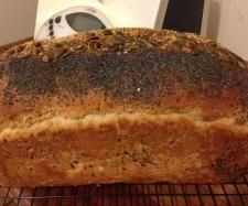 Wheat, Rye, Quinoa Bread with Linseeds by thermobexta #ThermomixBakeOff