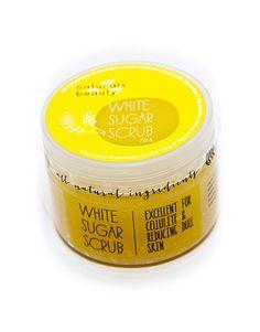 Naturals Beauty White Sugar Scrub Baking Ingredients, Cellulite, Cookie Dough, Scrubs, Natural Beauty, Sugar, Collection, Food, Essen