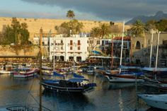 Kyrenia's old town harbour. Image by Jessica Lee / Lonely Planet