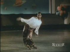 "Earl ""Snake Hips"" Tucker doing his Eccentric Dance Act."