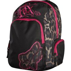 Fox Racing Women's Dirt Vixen Backpack « Clothing Impulse -- need this for riding! I never have anywhere to put things!