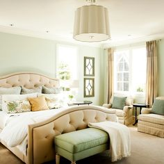 Traditional Bedroom Designs Custom Cool Your Bedroom With Refreshing Sea Salt Sw 6204 Paint Colors Inspiration Design