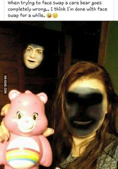 Ideas funny face swaps hilarious scary for 2019 Crazy Funny Memes, Really Funny Memes, Stupid Funny Memes, Funny Laugh, Funny Relatable Memes, Hilarious, Creepy Meme, Scary Funny, Fun Funny