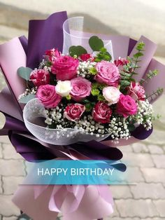 Bouquets, Happy Birthday, Table Decorations, Gallery, Pretty, Beautiful Flower Arrangements, Happy Brithday, Bouquet, Roof Rack