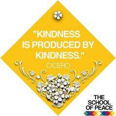 ........................................ #theschoolofpeace #peace #peaceful #peaceofmind #innerpeace #quoteoftheday #cicero  #kindness