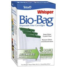 Large 3-pack Open Box Tetra Whisper Filter Cartridges New Other