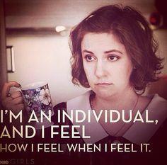 I'm an individual