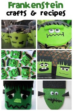 Frankenstein Crafts & Recipes - Fun Family Crafts
