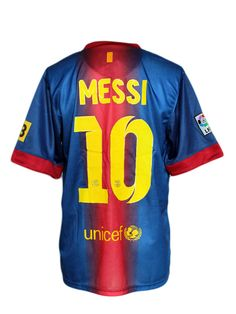 messi jersey barcelona