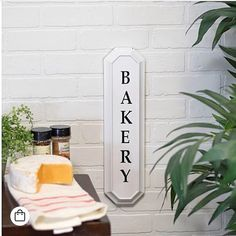New to the shop! Our Black and White Metal Bakery Sign will add a touch of vintage character to any wall! Resembling vintage enamel signage, it features black writing on a white background and a fun, unique shape. You can find it in the shop listed under the New Arrivals tab - or tap on the photo for a direct link to purchase⬆️. #bakery #bakerysign #sign