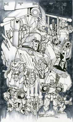 Transformers News: The Rob Lenten Experiment Charity Auction - Transformers Art and More