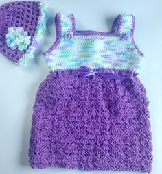 I'm selling Baby's Purple Sundress with Matching Hat