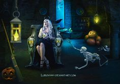 Halloween night by Lubov2001 on DeviantArt