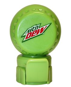 Mountain Dew Modern Logo Fizz Keeper Soda Bottle Pump and Pour Cap * Want to know more, click on the image.