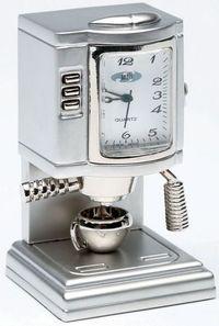 Expresso Machine Miniature Clock