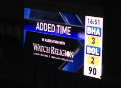 Watch Religion  Official Partners Of,  Brighton And Hove Albion Fc