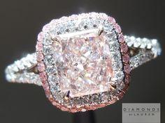I love this pink diamond ring. It's beautiful.
