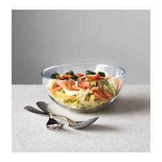 BLANDA Serving bowl, clear glass clear glass 8