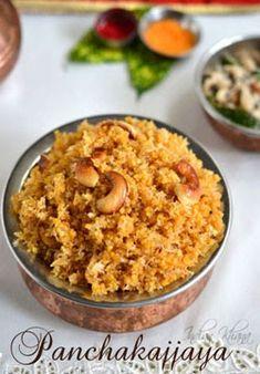 Panchakajjaya Recipe is Ganesh Chaturthi Naivedyam/blog recipe in Karnataka made with moong dal, coconut, jaggery, cashewnuts. Panchakajjaya recipe has variety