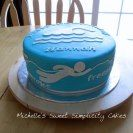 swimming themed cakes - Google Search
