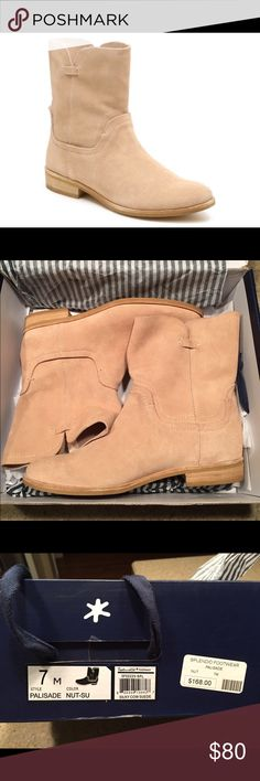 🔹NIB🔹 Splendid Palisade suede ankle boots Brand-new, never worn camel-color suede ankle boot. Perfect for fall and winter! Purchased at a boutique in Charleston, but sadly were a 1/2 size too small for me 😔 First picture is a stock photo from Google. Splendid Shoes Ankle Boots & Booties