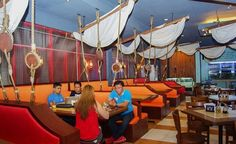 Pirates Seafood Restaurant and KTV Bar located along Lapasan Highway just across Home Plus and right after passing Goldtown.