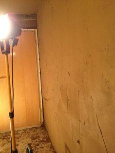okologische sanierung mit naturbaustoffen und lehmputz vorbereitung der k chenw nde und decken. Black Bedroom Furniture Sets. Home Design Ideas