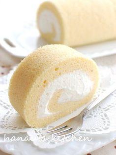 幸せの純生スフレロールケーキ
