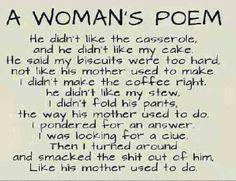 Women's poem.... Funny
