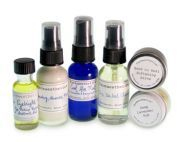 :: On-The-Go Travel Set ::  When traveling light you must pack right & this 6-piece set is perfect for keeping skin healthy tip-to-toe when on the go...    6 Farmaesthetics favorite multi-use products to address skincare needs for face, body, men, women, teens & tots.  A full Farmaesthetics personal care regimen in sizes perfect for packing & easy airport check-through.