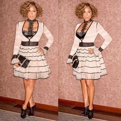"Marjorie Harvey on Instagram: ""My look yesterday #switchingitup #MarjorieHarvey #nyfw @robertector @kiyahwright1 @jasonmcglothin @devvision @theladylovescouture"""