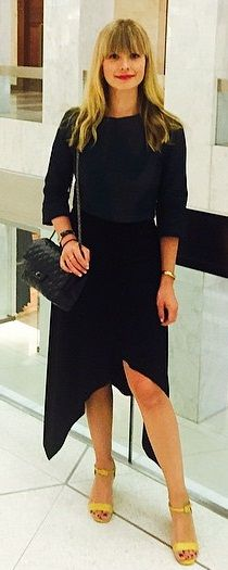 Mosha Lundstrom from Footwear News